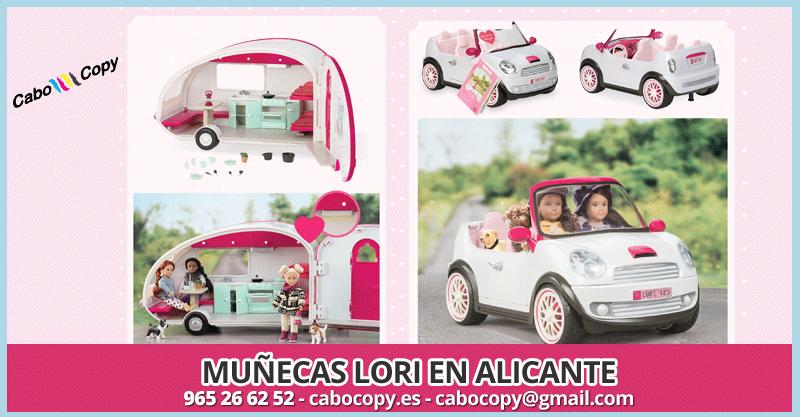 Muñecas Lori Alicante - Playa de San Juan