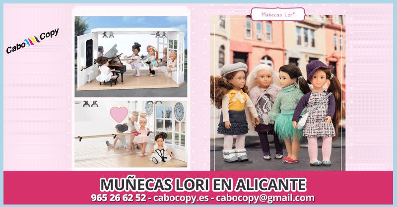 Muñecas Lori Alicante